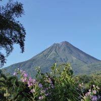 Parc national du volcan Arenal au Costa Rica